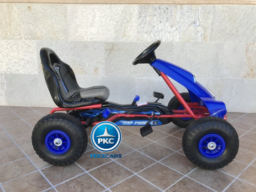 KART A PEDALES FLAME AZUL LATERAL DERECHO1 width=