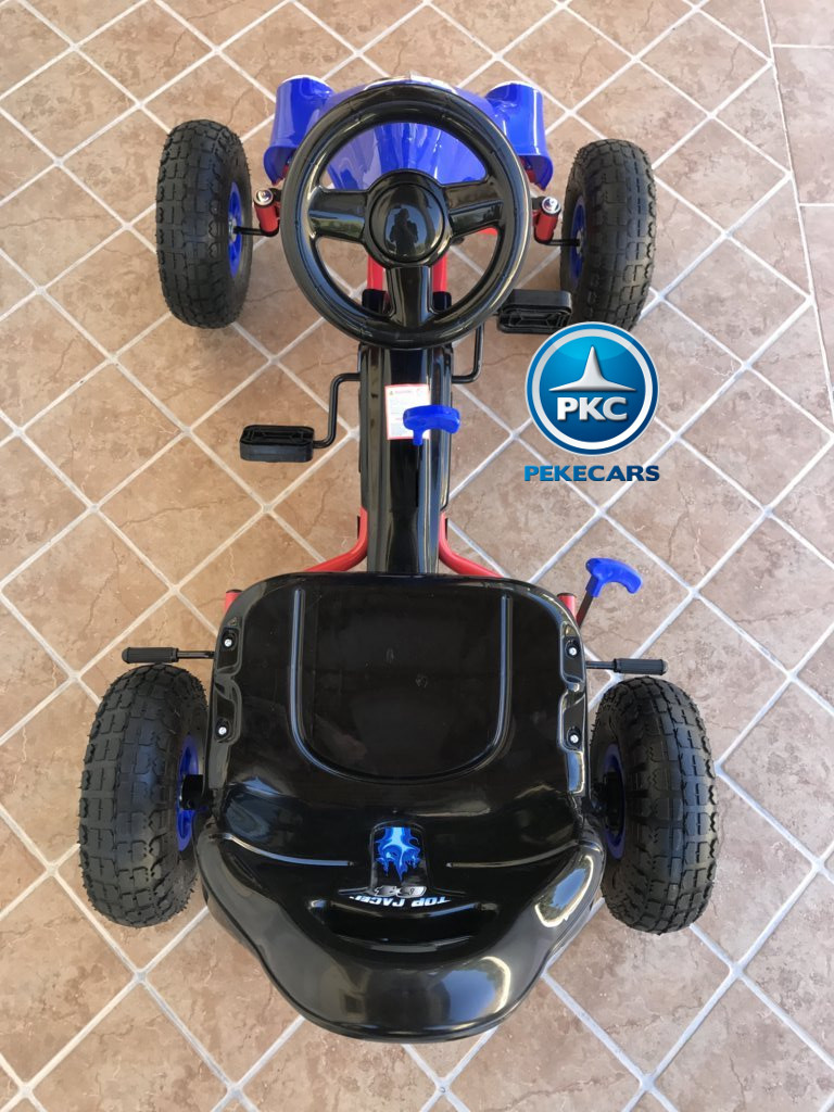 KART A PEDALES FLAME AZUL SUPERIOR width=