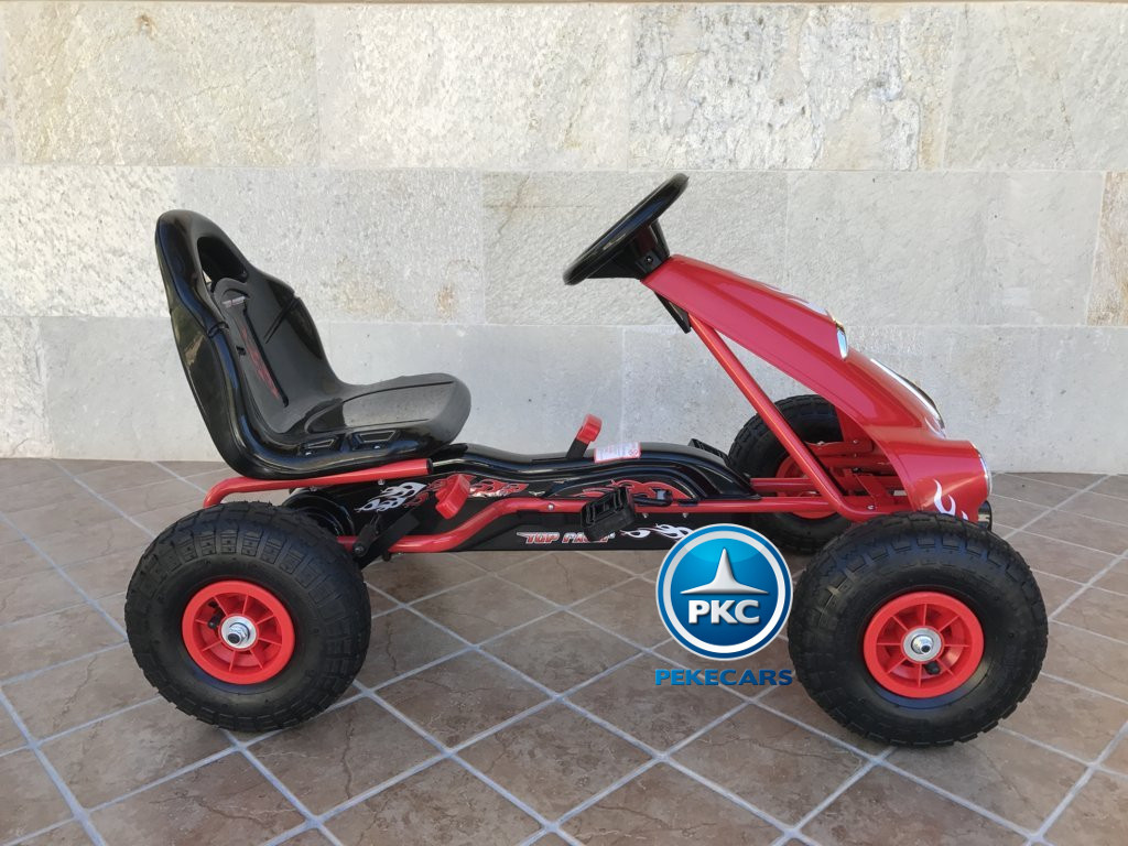 KART A PEDALES FLAME ROJO LATERAL DERECHO1