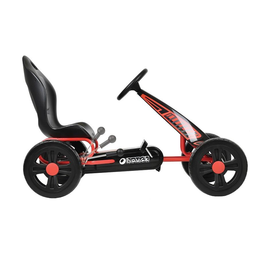 Kart a pedales Cyclone Rojo - palanca de freno width=