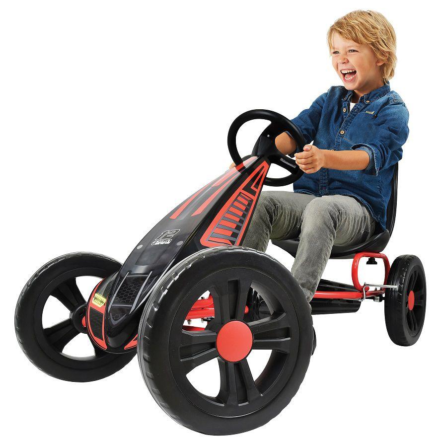 Kart a pedales Cyclone Rojo width=