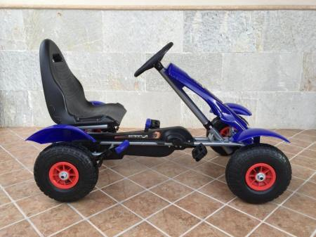 KART A PEDALES F618 AZUL LATERAL DERECHO