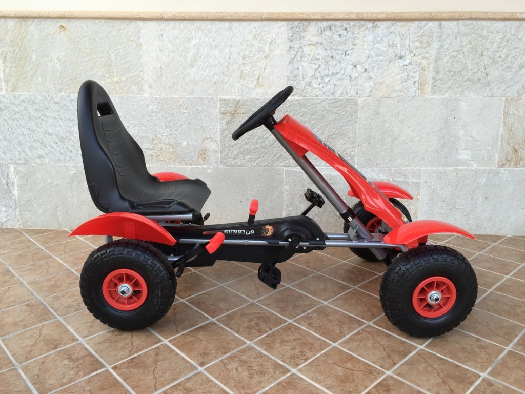 KART A PEDALES F618 ROJO LATERAL DERECHA