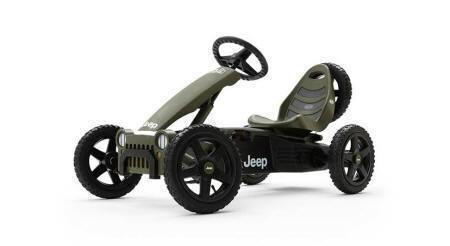 KART A PEDALES JEEP ADVENTURE LATERAL IZQUIERDO
