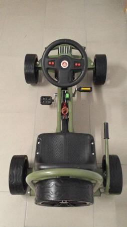 KART A PEDALES GC004JP JEEP STYLE SUPERIOR