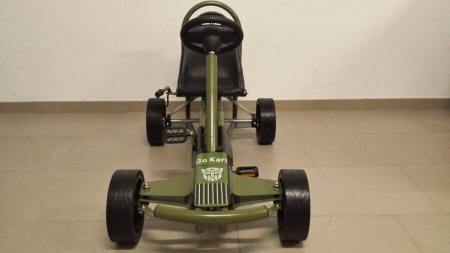 KART A PEDALES GC004JP JEEP STYLE FRONTAL width=