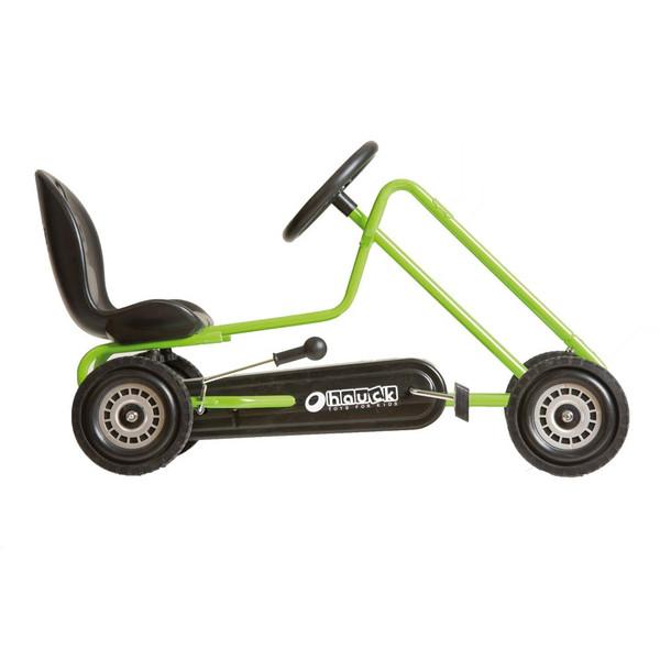 Kart a pedales Lightning verde - vista lateral