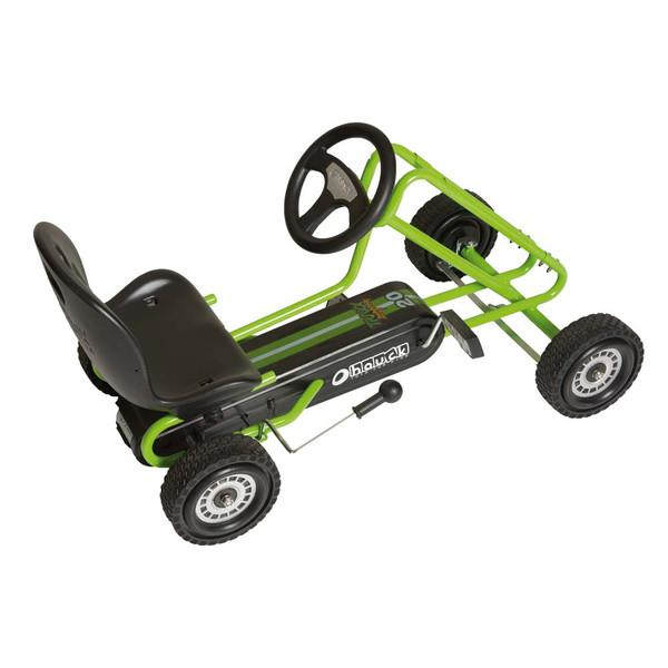Kart a pedales Lightning verde - vista aerea