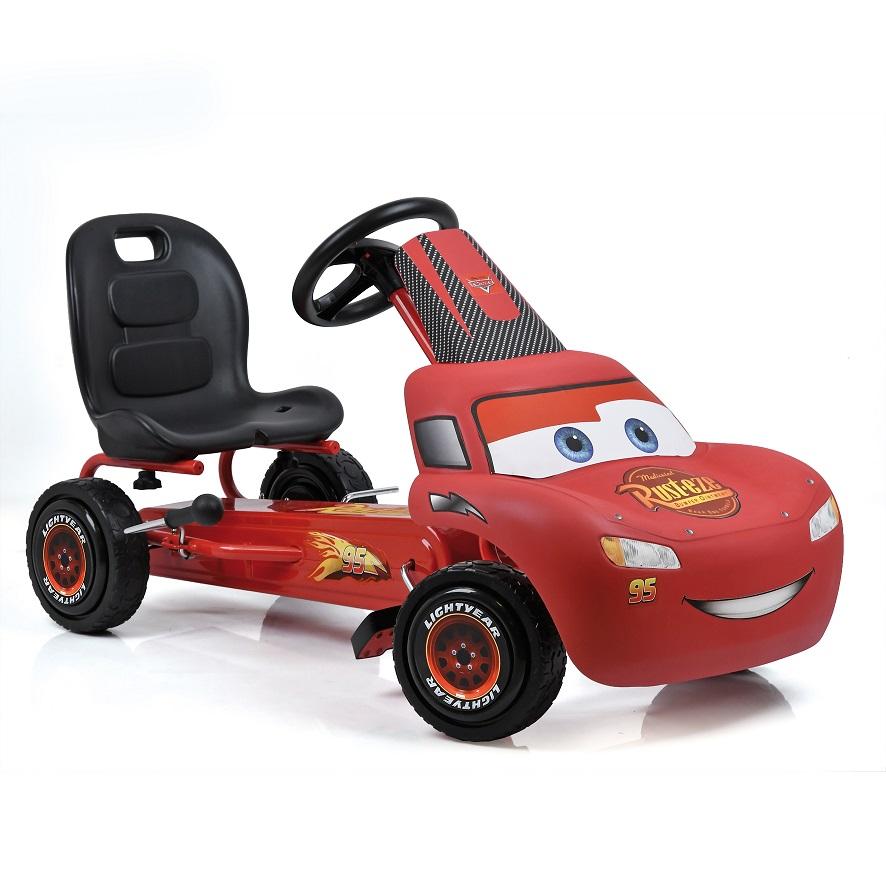 Kart a pedales McQueen de Cars - vista kart width=