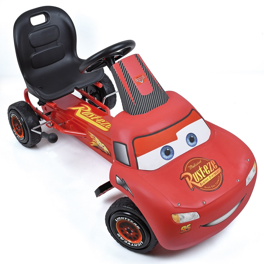 Kart a pedales McQueen de Cars - vista spoiler width=