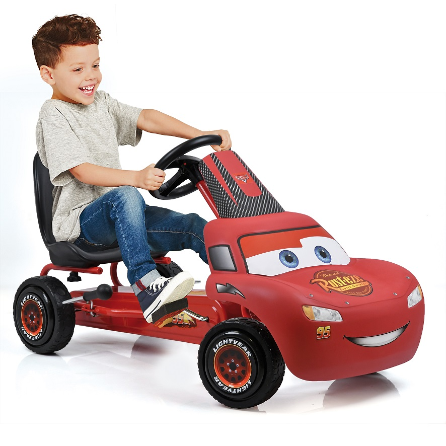 Kart a pedales McQueen de Cars width=