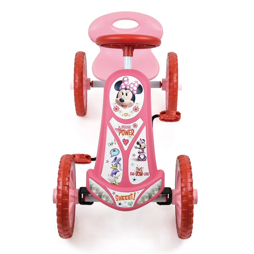 Kart a pedales Minnie Turbo 10 - vista frontal