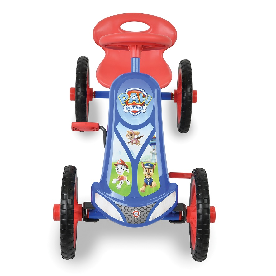 Kart a pedales Paw Patrol Turbo 10 - vista frontal