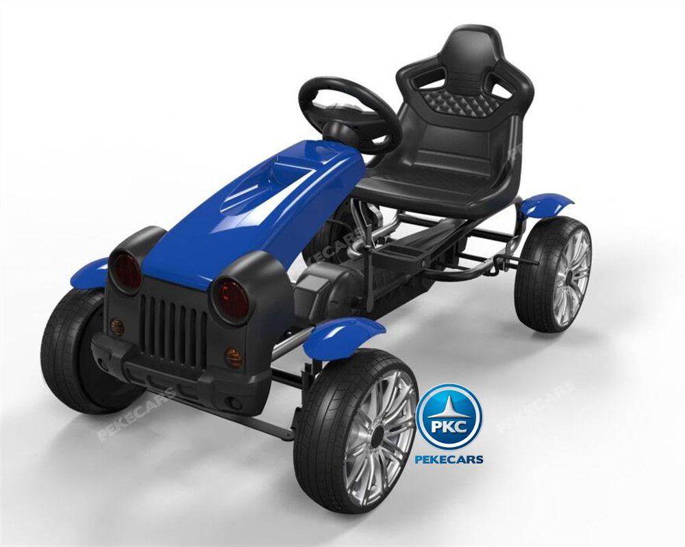 Kart a pedales HEX HC002 Azul Pintado