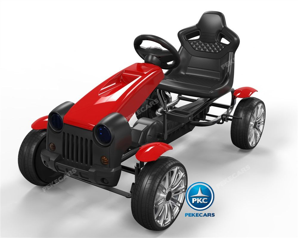 Kart a pedales hex rojo hc002