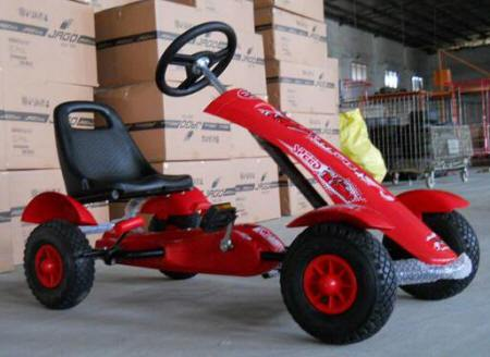 KART A PEDALES SPORT MEDIUM PEKECARS RED