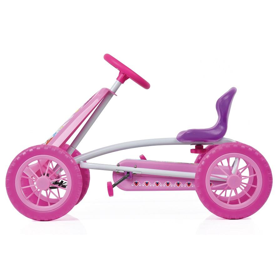 Kart a pedales Princess Turbo 10 - vista lateral