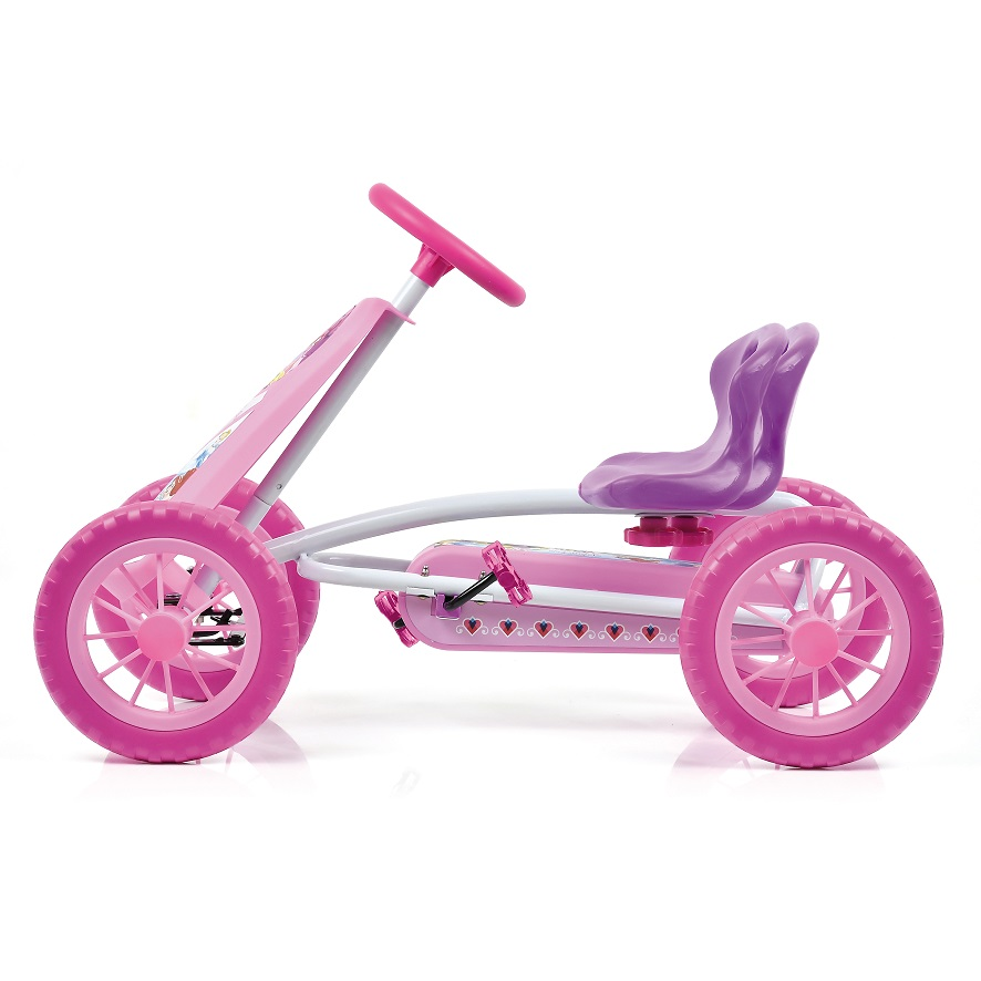 Kart a pedales Princess Turbo 10 - asiento regulable width=