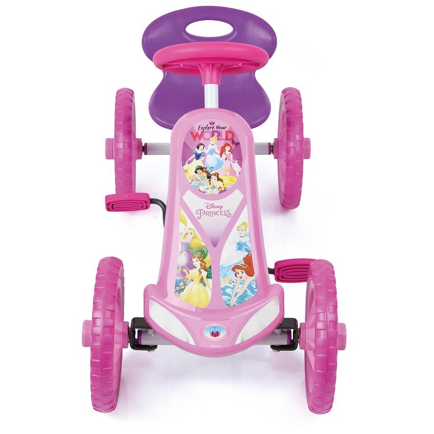 Kart a pedales Princess Turbo 10 - vista frontal width=