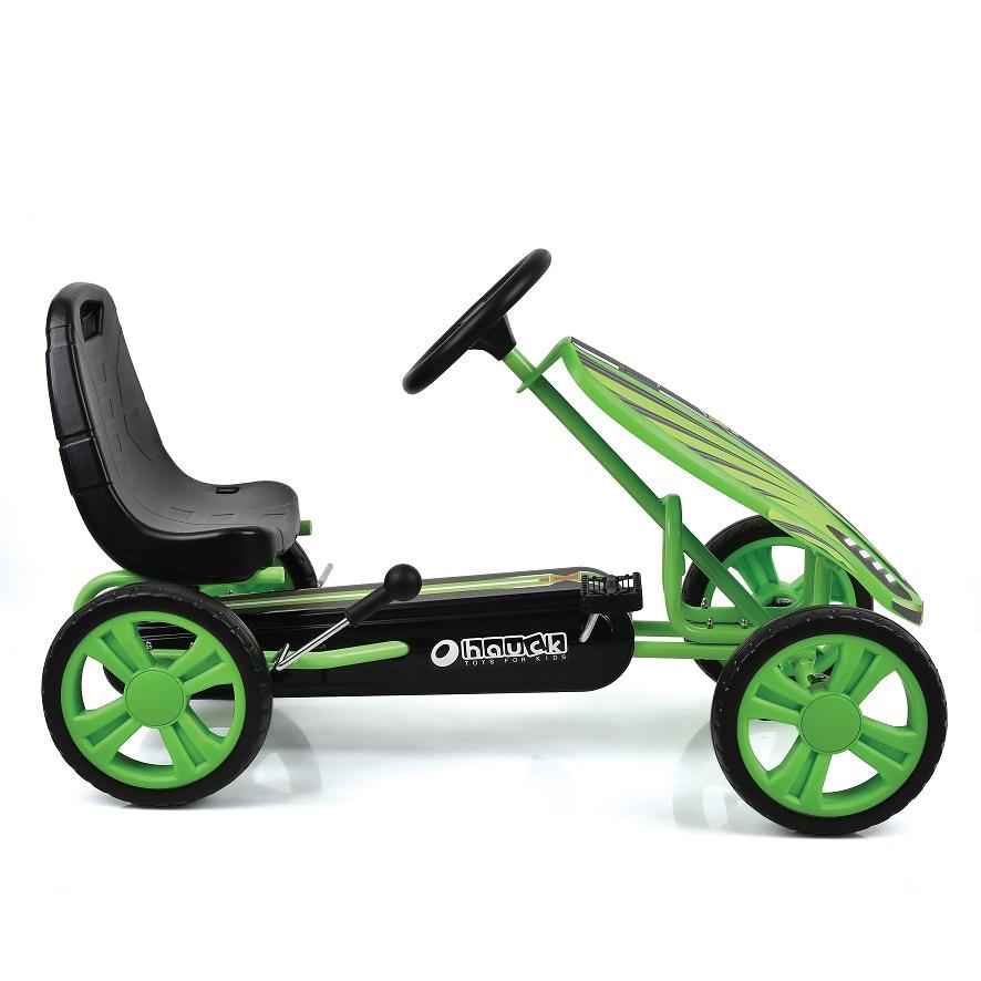 Kart a pedales Speedster Verde - vista lateral