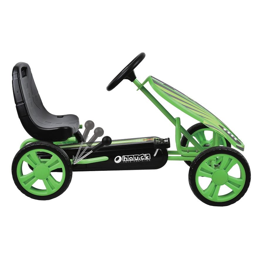 Kart a pedales Speedster Verde - palanca de freno