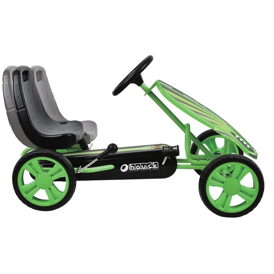 Kart a pedales Speedster Verde - asiento ajustable