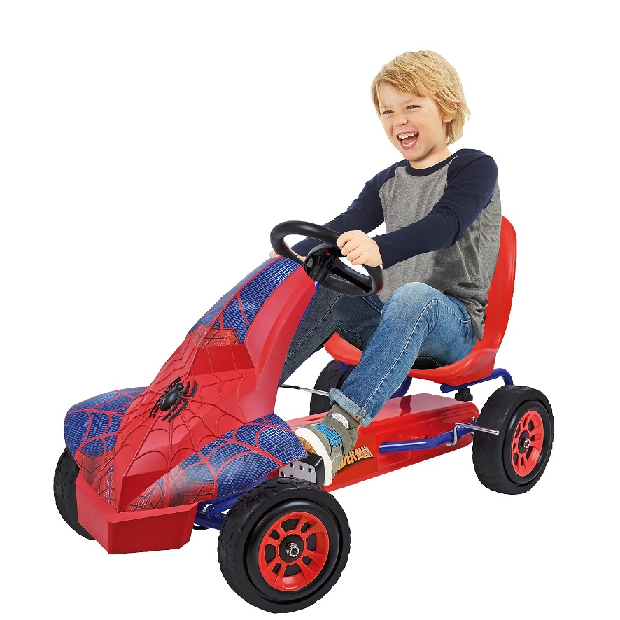 Kart a pedales Spiderman width=