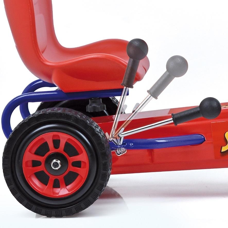 Kart a pedales Spiderman - palanca de freno width=