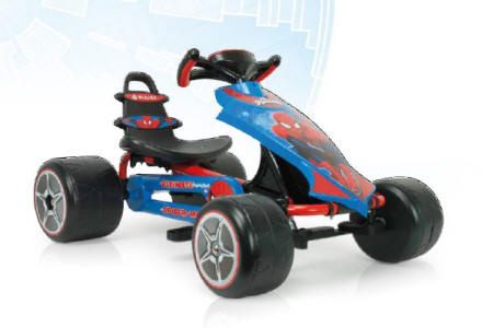 Go kart ultimate spiderman