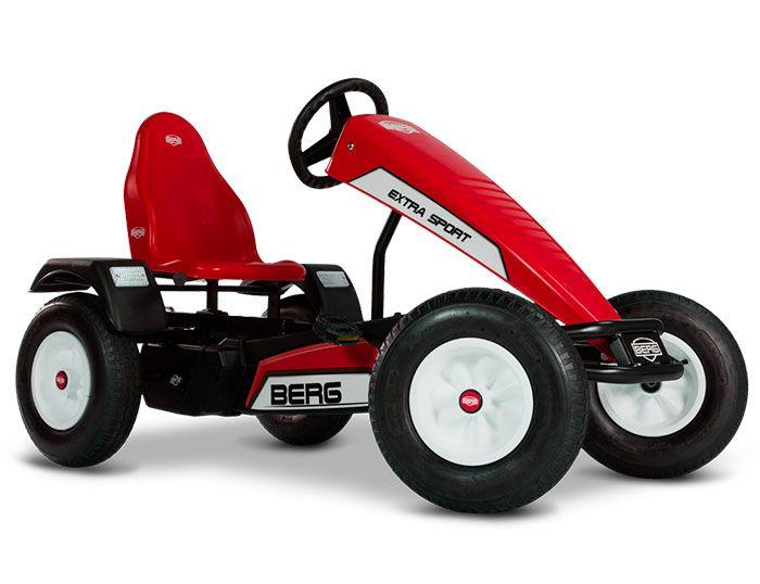 KART A PEDALES BERG EXTRA SPORT RED E BFR ROJO width=