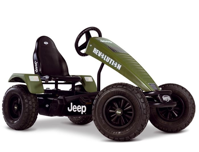 KART ELECTRICO BERG JEEP REVOLUTION E BF