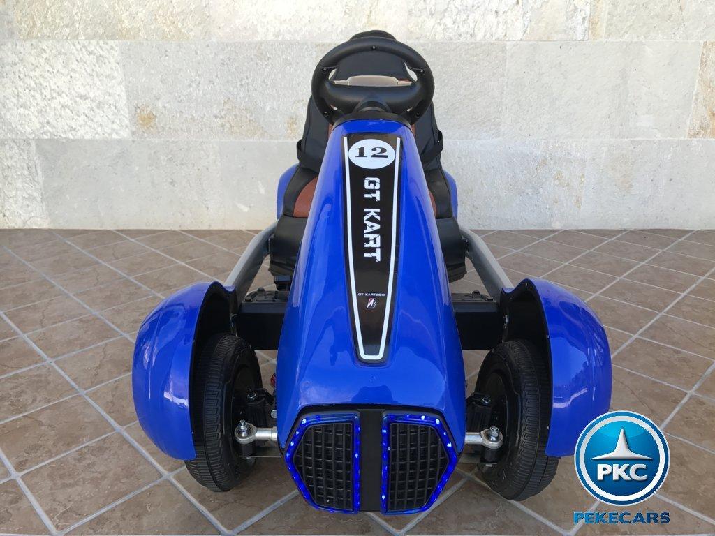 Parte frontal Pekecars go-kart 12v 2.4g rc azul width=