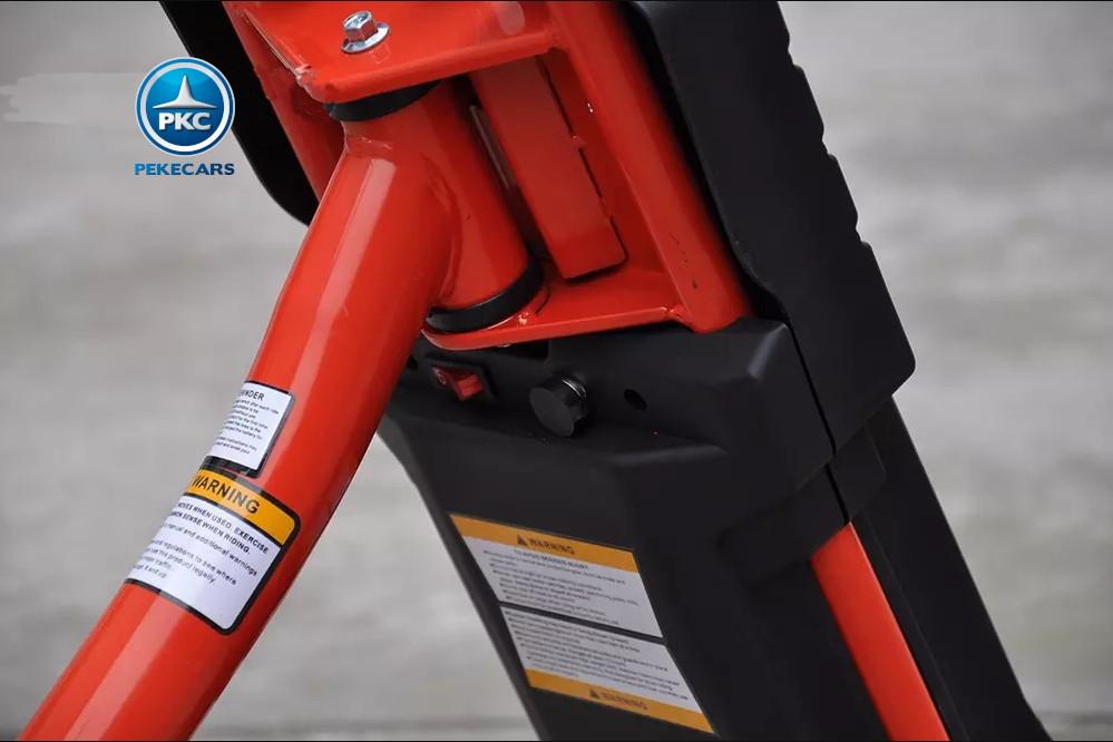 Kart electrico Power Drift Trike Rojo