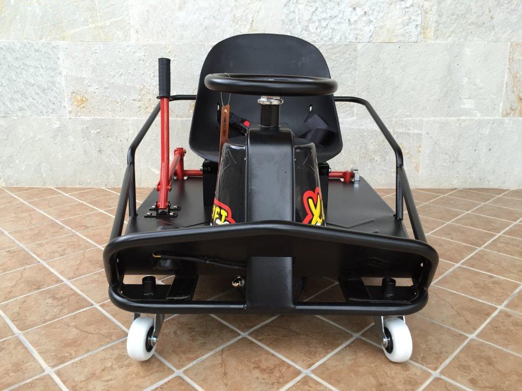 Vista frontal del Drift cart 36v xl electric pekecars width=
