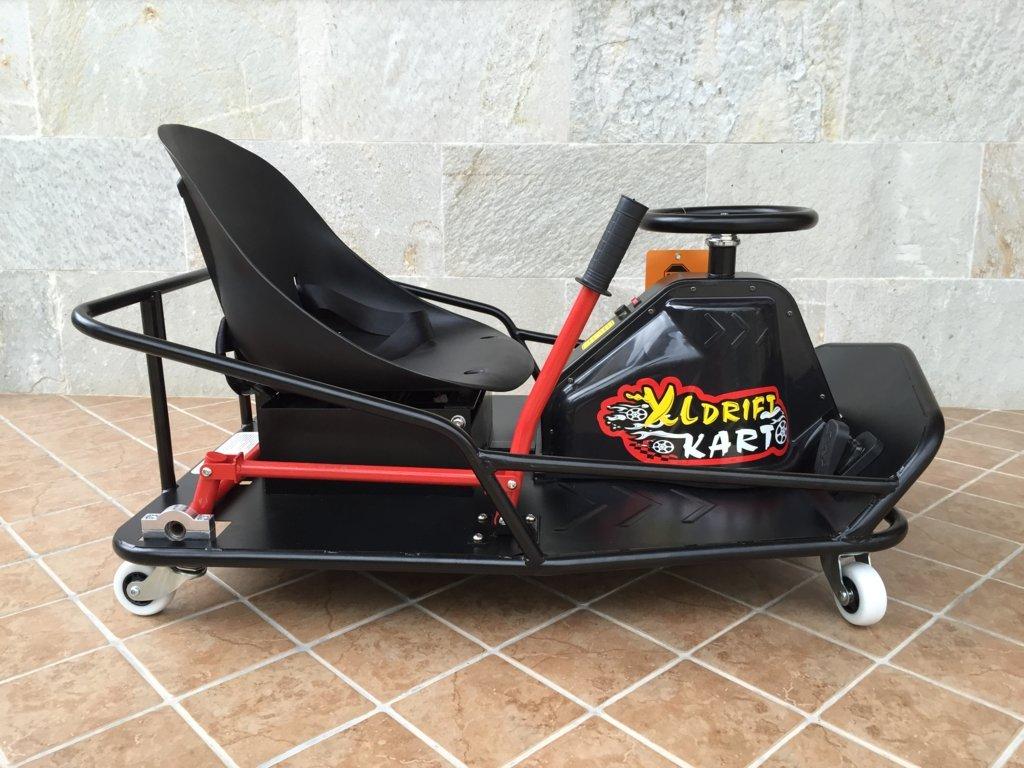 Vista lateral derecho del Drift cart 36v xl electric pekecars width=