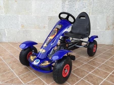 Kart a pedales F618 Azul
