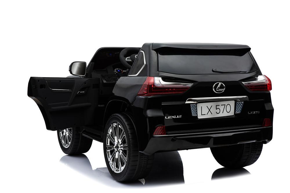 vehiculo electrico lexus para niños a bateria 12v width=