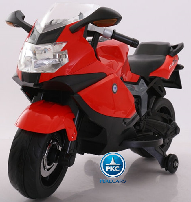 Moto BMW style K1300S roja