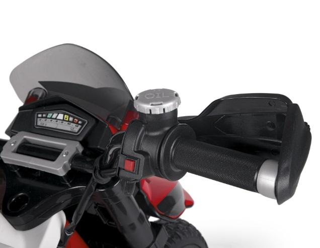 Moto Ducati Enduro 12V - Zoom manillar