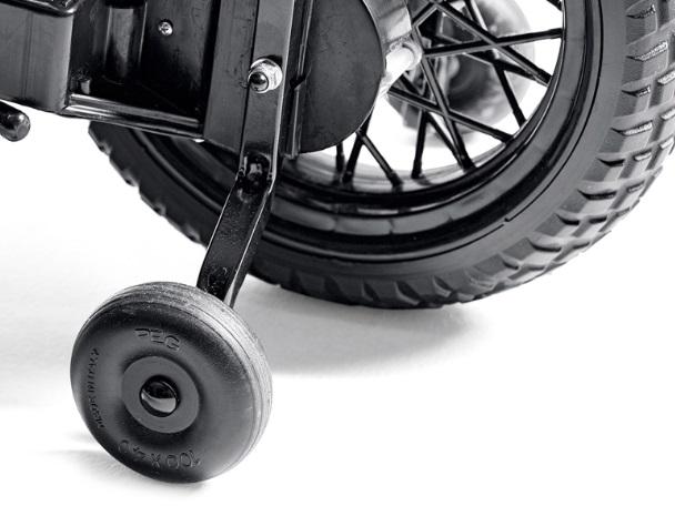 Moto Ducati Enduro 12V - ruedines