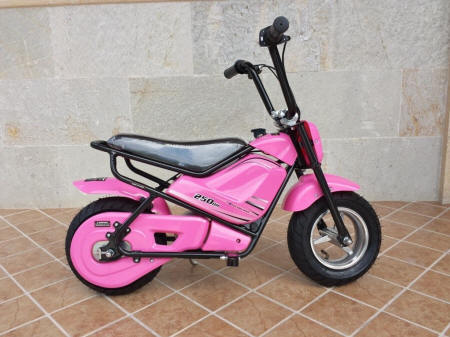 Moto Pekecars 250W 24V Pink width=