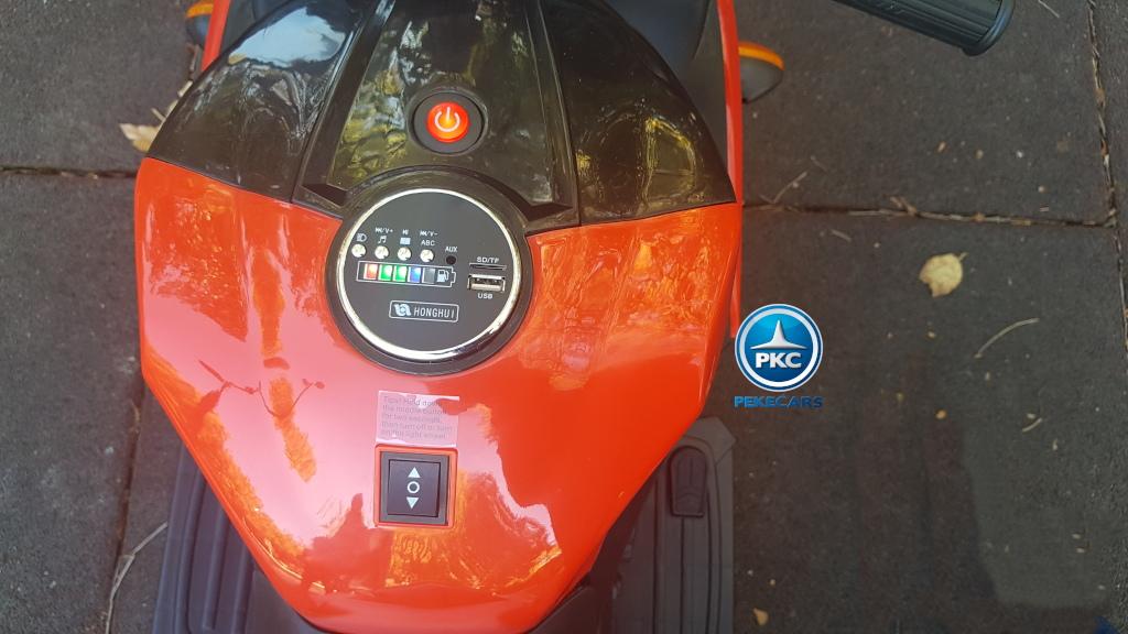 Moto eléctrica R1 12v Roja