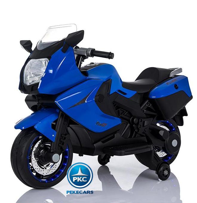 MOTO BMW STYLE C 650 AZUL LATERAL IZQUIERDO width=