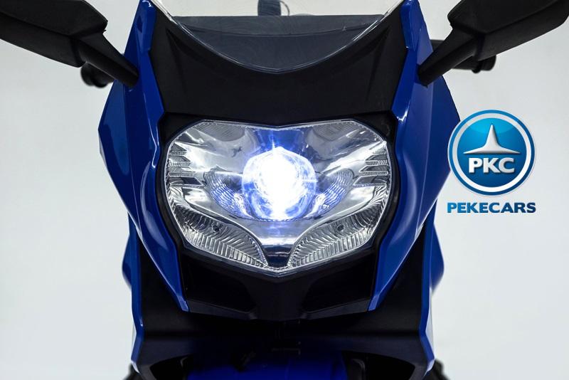 MOTO BMW STYLE C 650 AZUL FARO width=