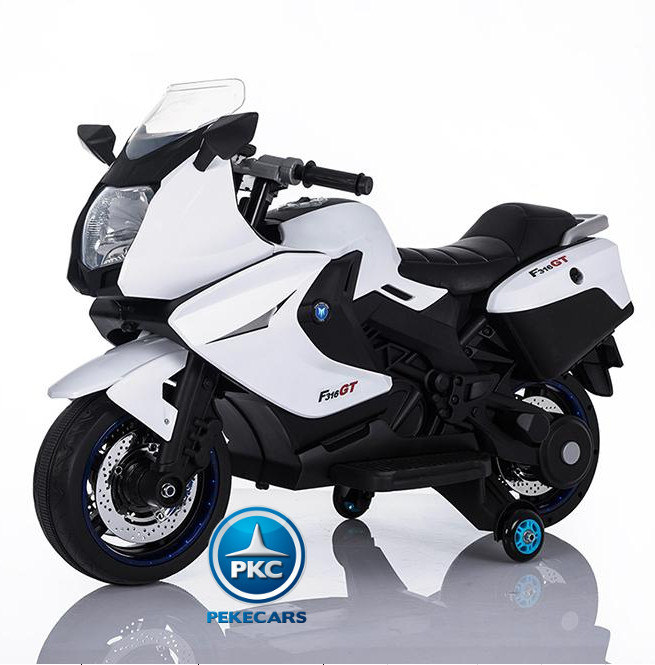 MOTO BMW STYLE C 650 BLANCA LATERAL IZQUIERDO