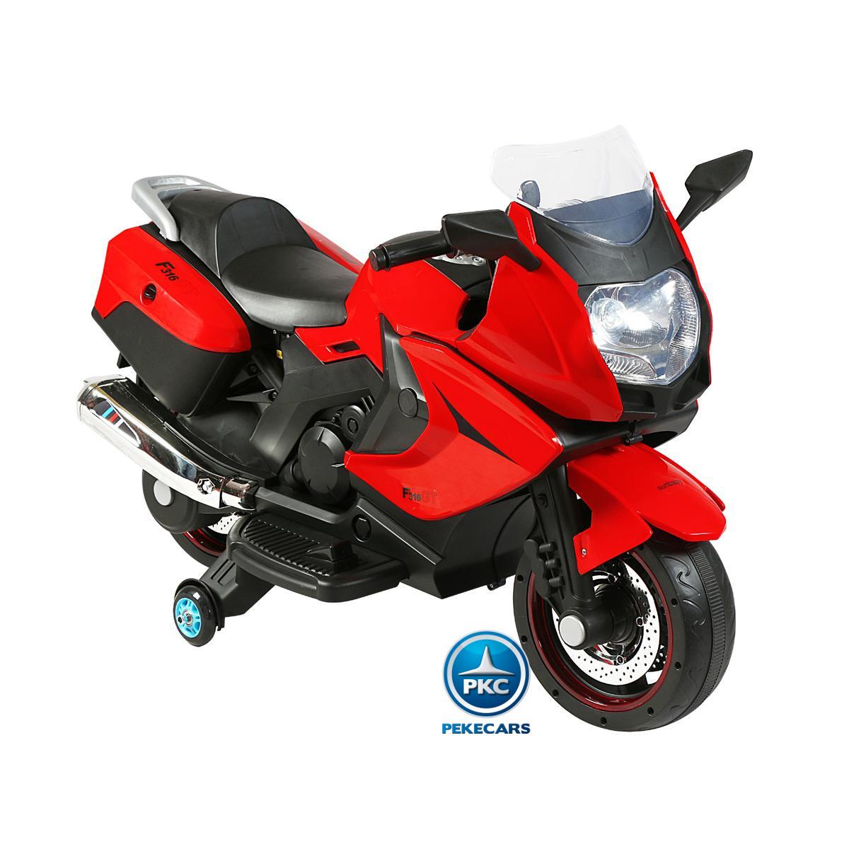 MOTO BMW STYLE 650 C ROJA LATERAL DERECHO width=