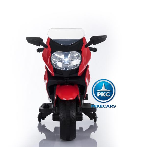 MOTO BMW STYLE 650 C ROJA FRONTAL width=