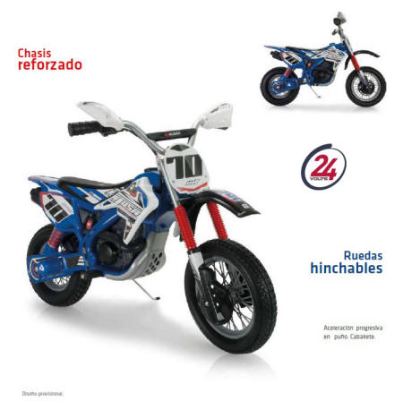 X-treme motorbike blue fighter 24v