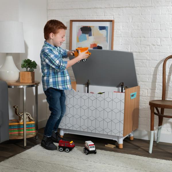 Kidkraft caja de juguetes de madera Mid Century 14975
