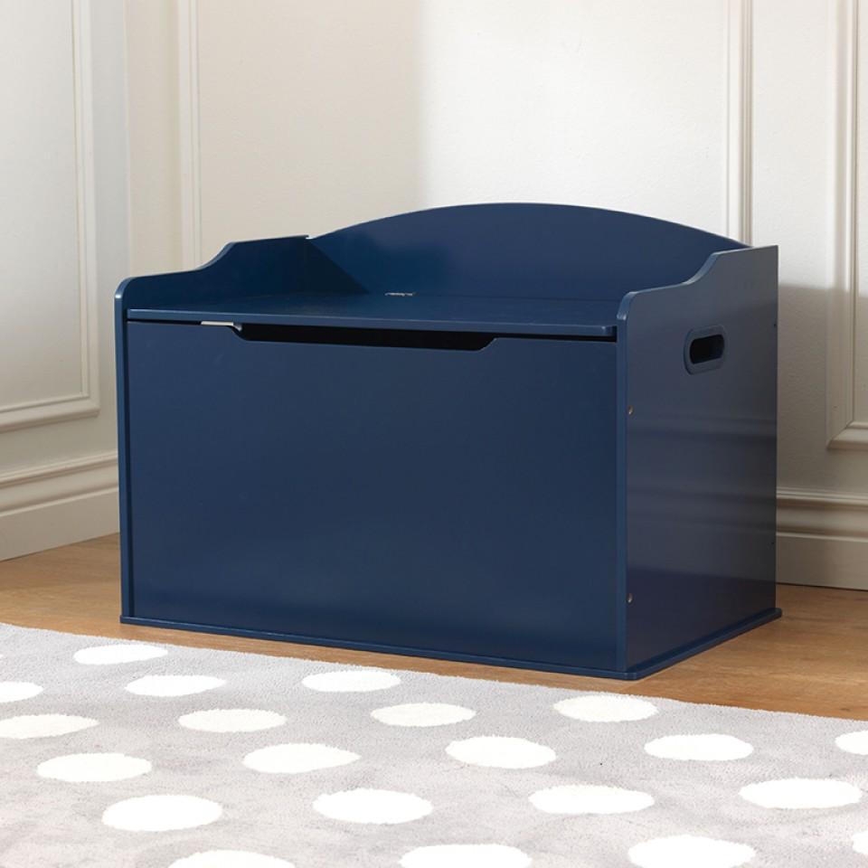 Kidkraft Baul Para Juguetes Austin Azul Marino 14959 Inforchess # Muebles Coquetos